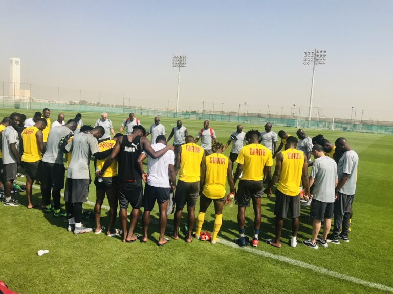 Interview: Kwadwo Asamoah on Black Stars arrival in Egypt & expectations for the tournament
