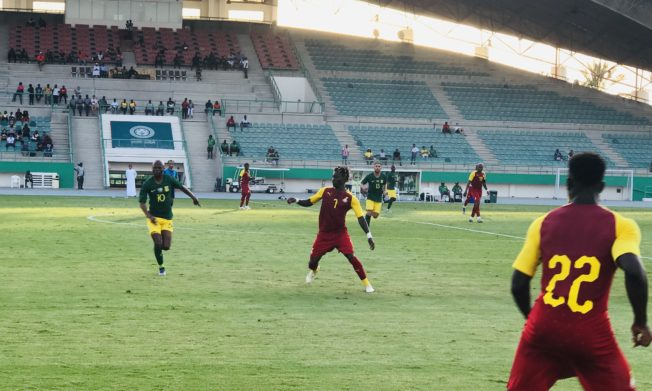 Black Stars draw goalless with South Africa Pre-AFCON friendly