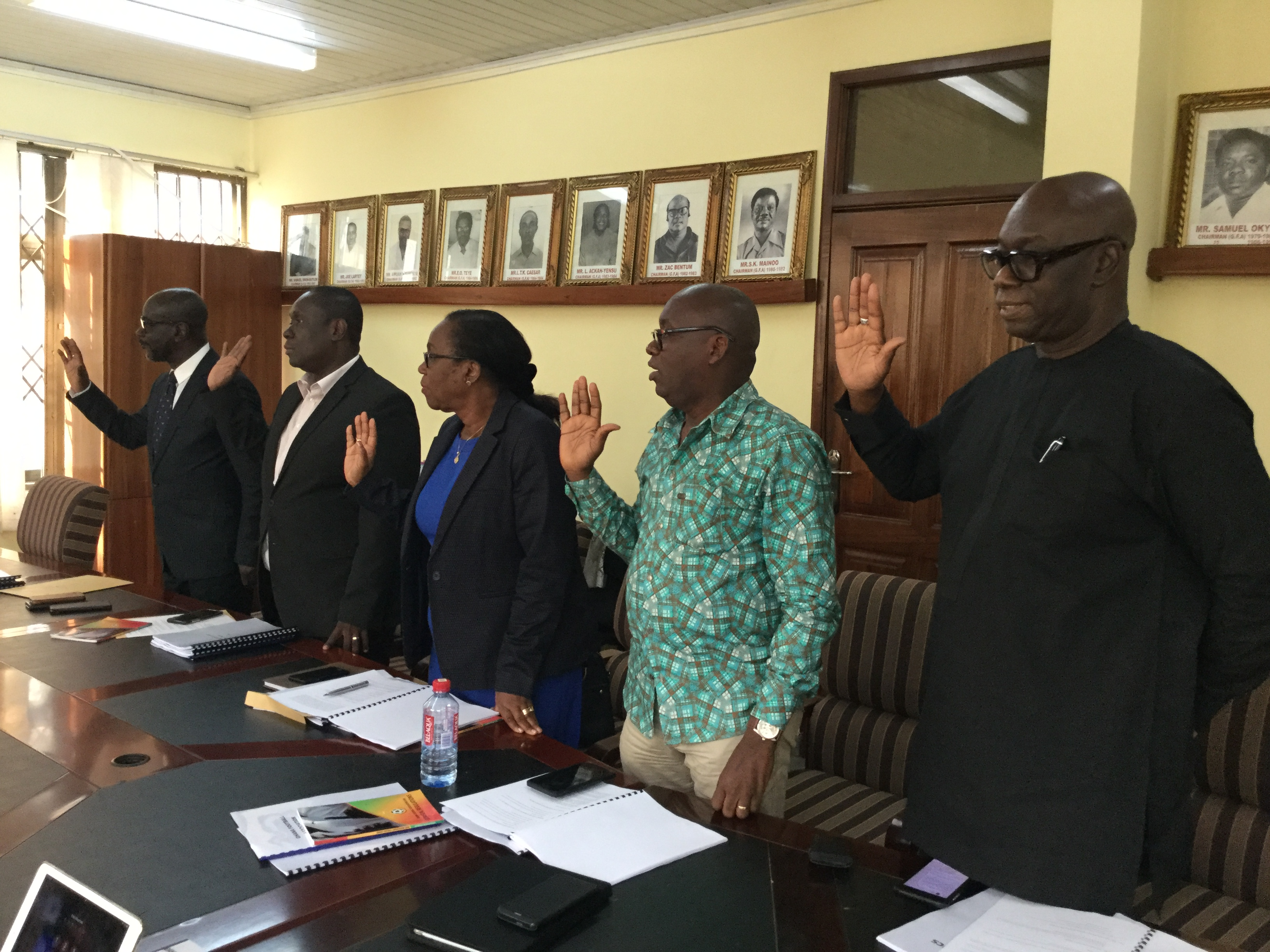 Vetting Committee for 2019 GFA Elections inaugurated