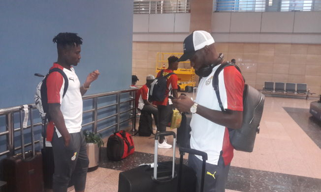 Black Meteors arrive in Egypt for 2019 U-23 AFCON