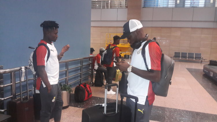 Black Meteors arrive in Egypt for 2019 U-23 AFCON