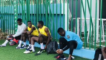 We are ready despite the pressure, says Black Meteors captain Yaw Yeboah