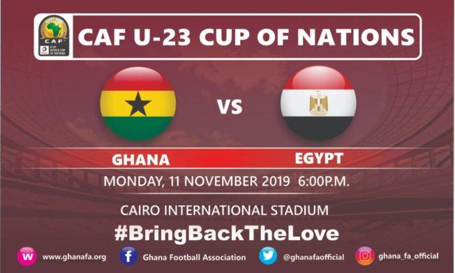 U23 AFCON: Black Meteors XI vs Egypt