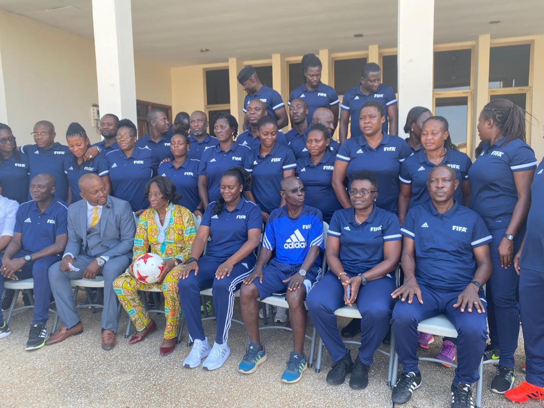 5-Day FIFA Women's Coaching course underway in GSCE