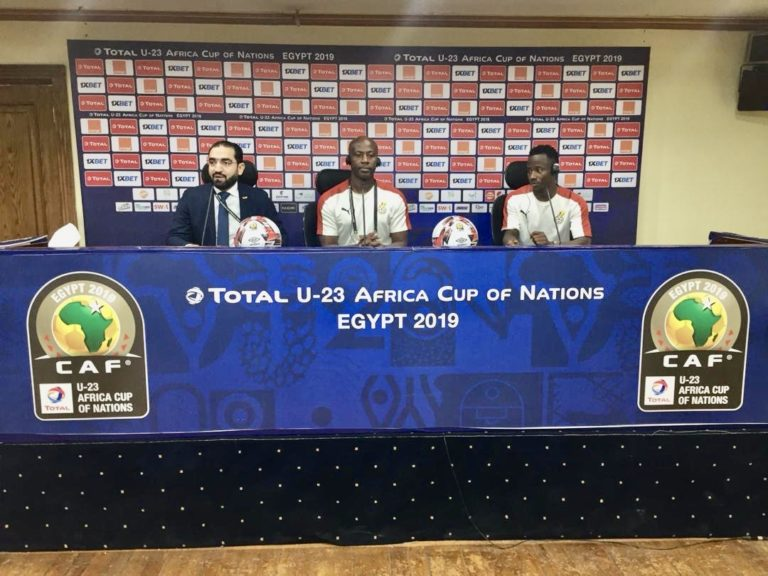 Coach Ibrahim pleased with Black Meteors second half performances in 2019 U-23 AFCON