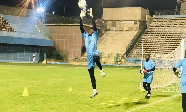U23 AFCON-Black Meteors hold first training session in Cairo