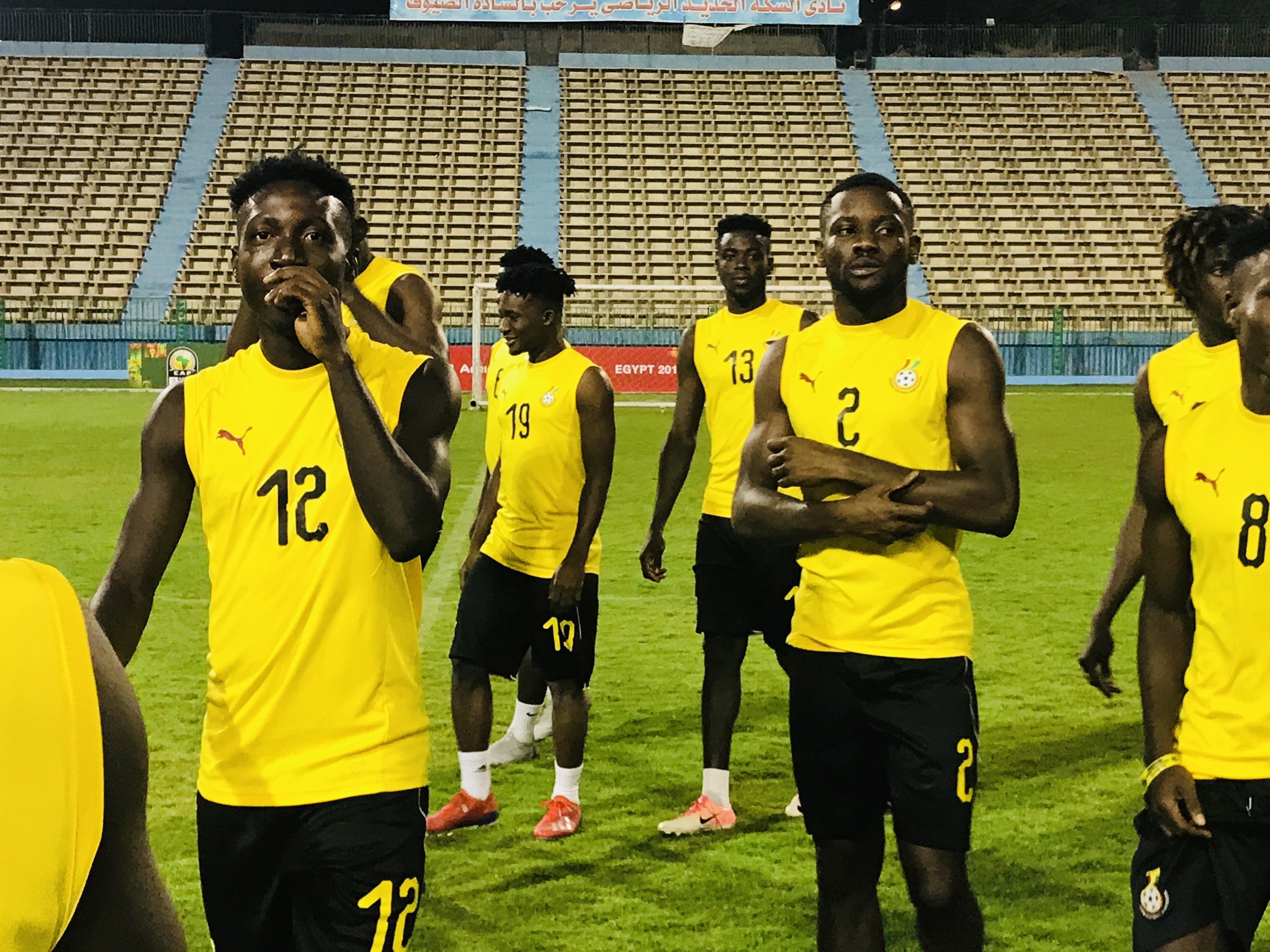 Black Meteors have full house as training intensifies for U23 AFCON opener