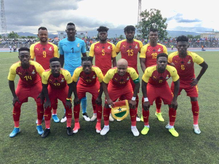 AFCON 2021 qualifier: Ghana defeats São Tomé to go top