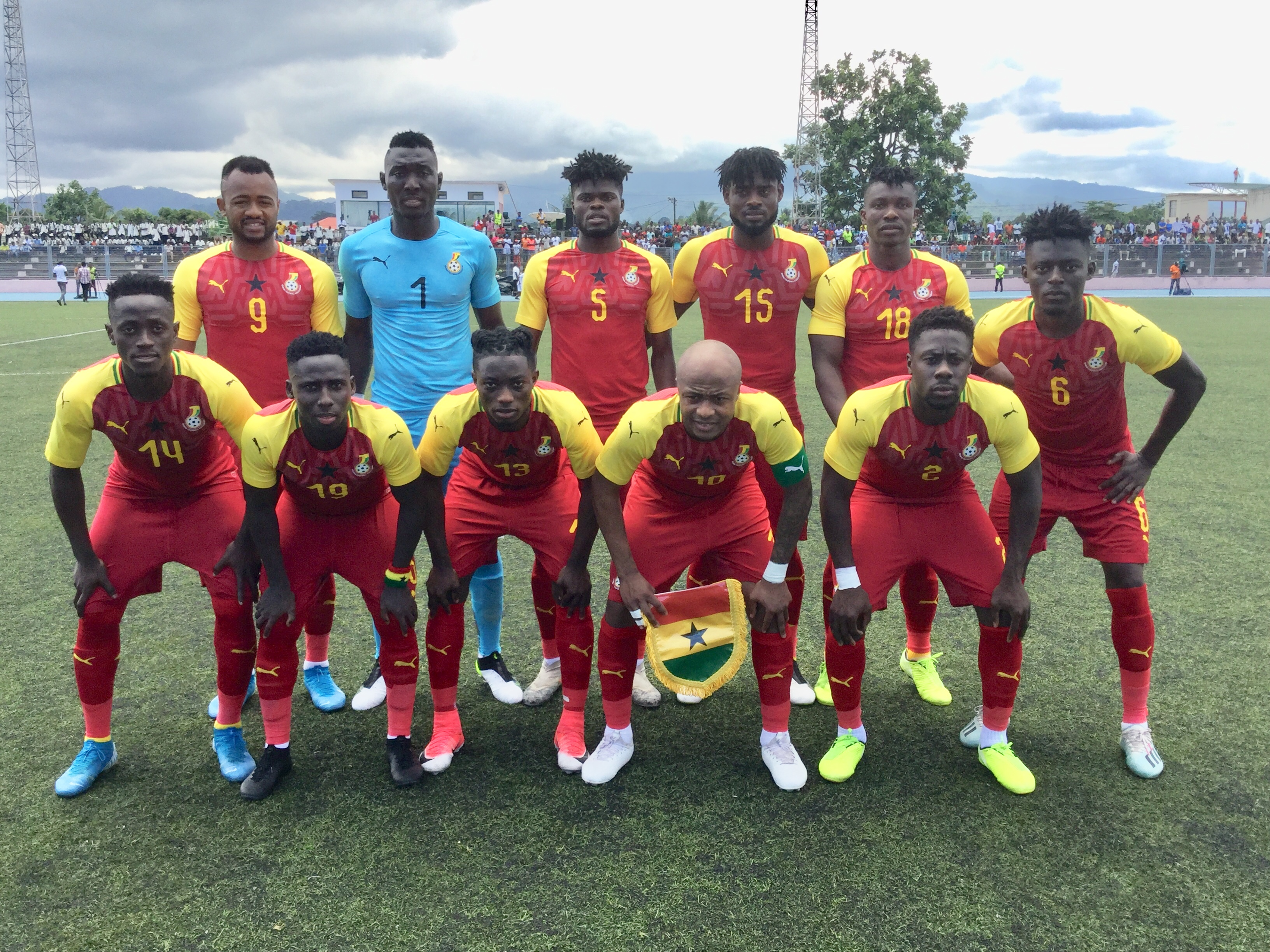 AFCON 2021 qualifier: Ghana defeats São Tomé to go top