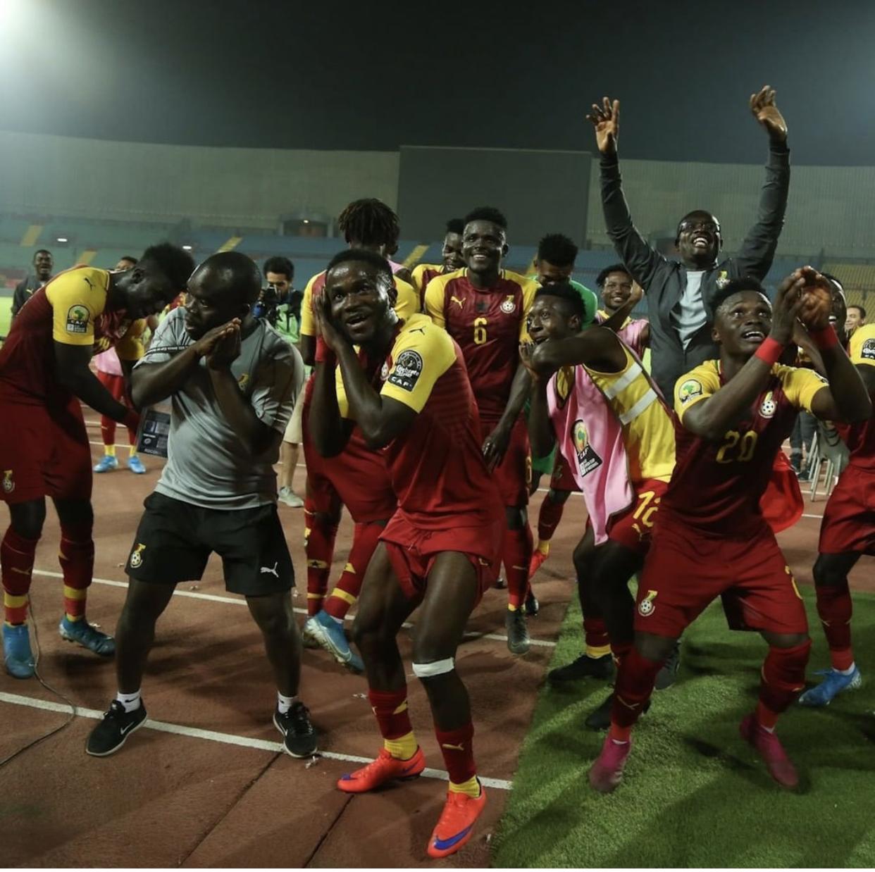 Kwabena Owusu brace sends Black Meteors to U23 AFCON semis