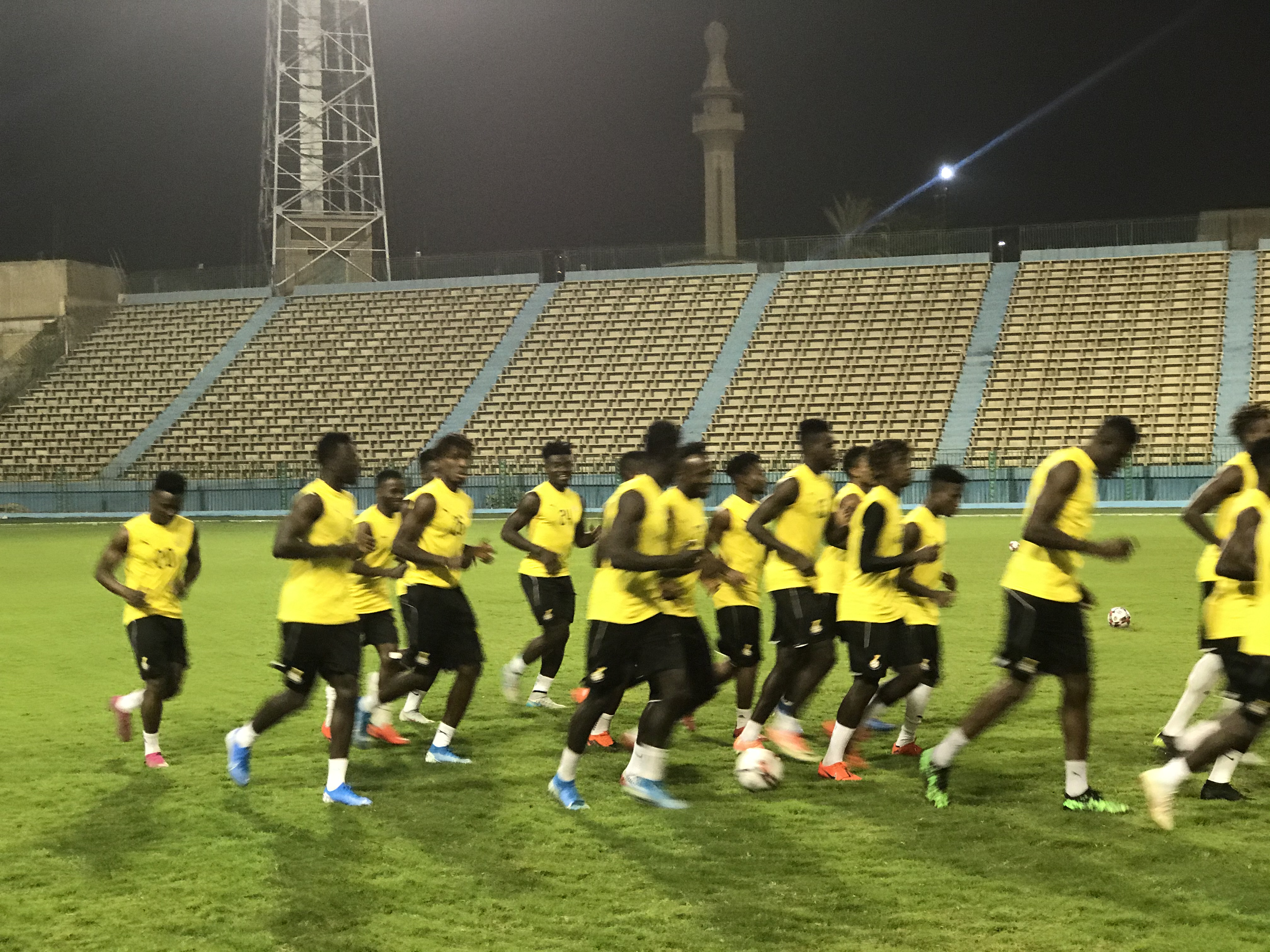 Black Meteors refuse to lose hope ahead of final group match against Mali