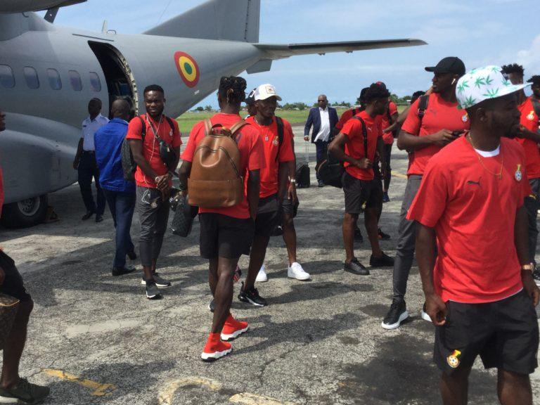Black Stars arrive in São Tomé for Afcon qualifier