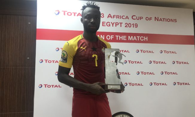 'Super' substitute Kwabena Owusu wins Man of the Match Award