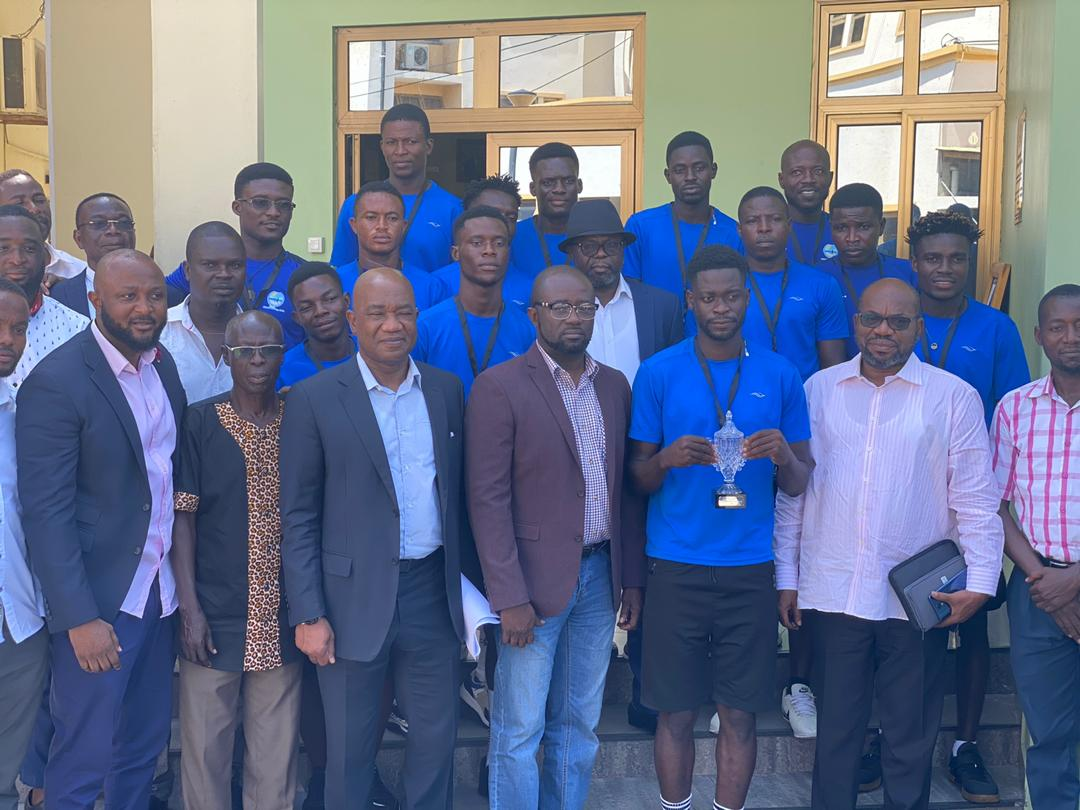GFA President reiterates commitment to development of beach soccer
