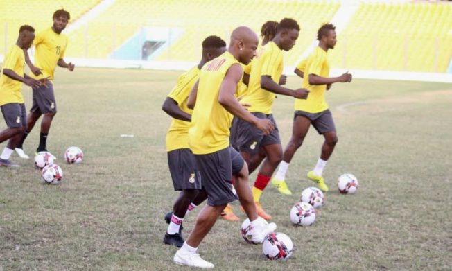 Black Stars start preparations in Accra for Afcon qualifiers