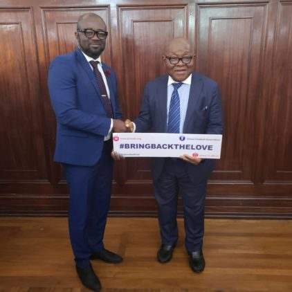 Speaker of Parliament commends GFA for #BringBackTheLove Campaign
