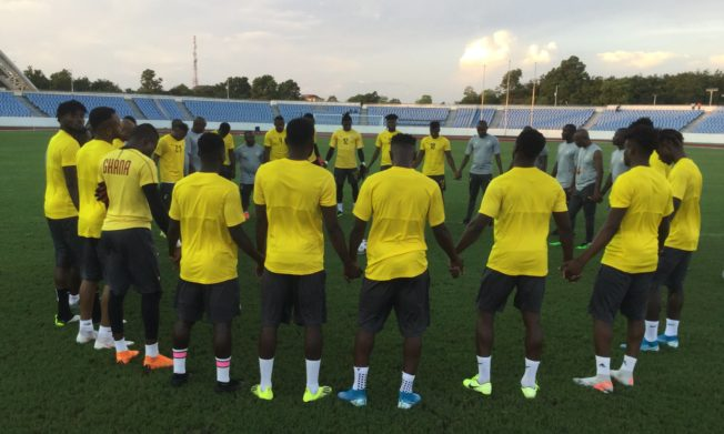 Focused Black Stars determined to glitter against South Africa