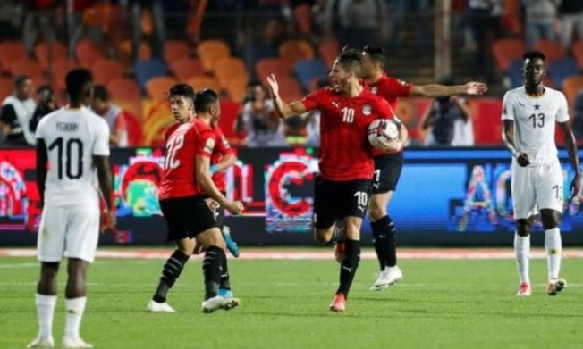 Egypt rally to beat Black Meteors in AFCON U23 group tie