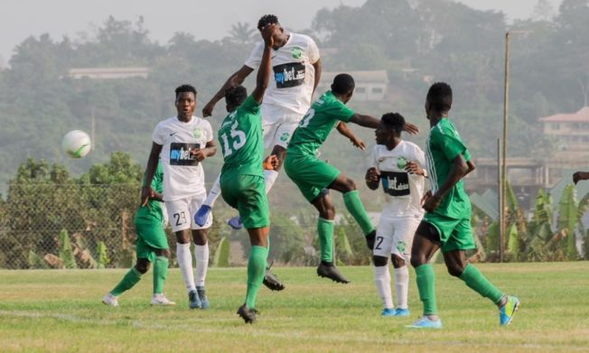 Dreams FC hand King Faisal heavy defeat in Dawu