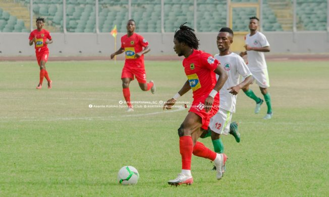 Blay's season opener helps Asante Kotoko in lone goal victory over Wonders