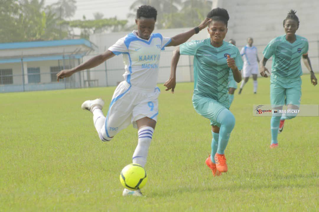 Immigration Ladies still winless after losing to Lady Strikers in Cape Coast