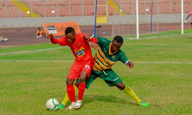 Asante Kotoko leave it late to beat Dwarfs in Kumasi