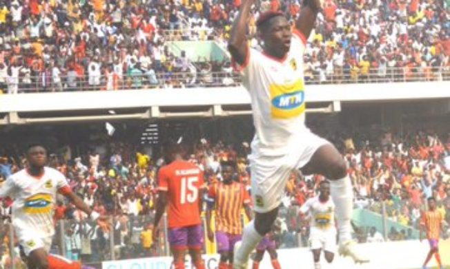 Asante Kotoko beat Hearts of Oak to move fourth on League log