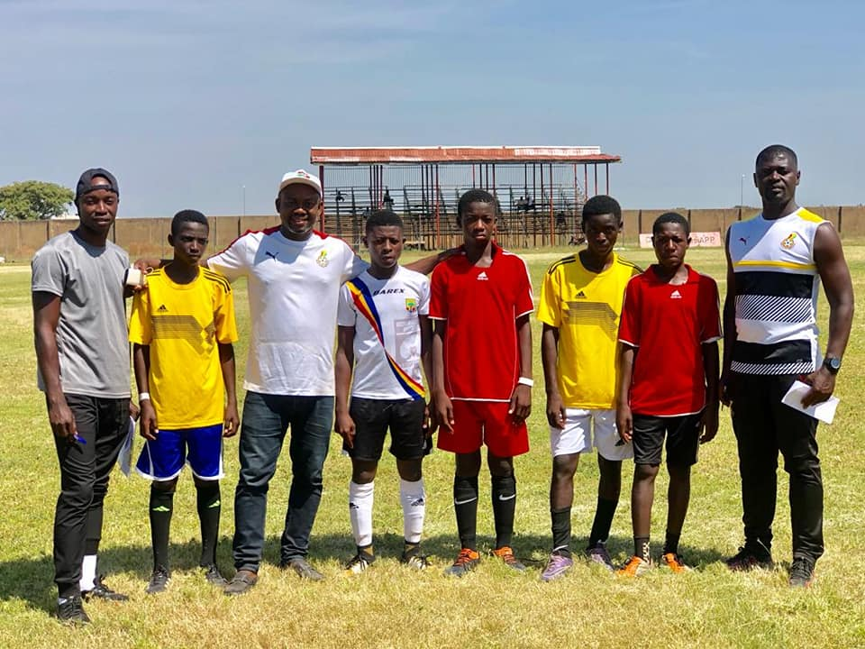 GFA names Technical & Management Teams for male U-15 national team