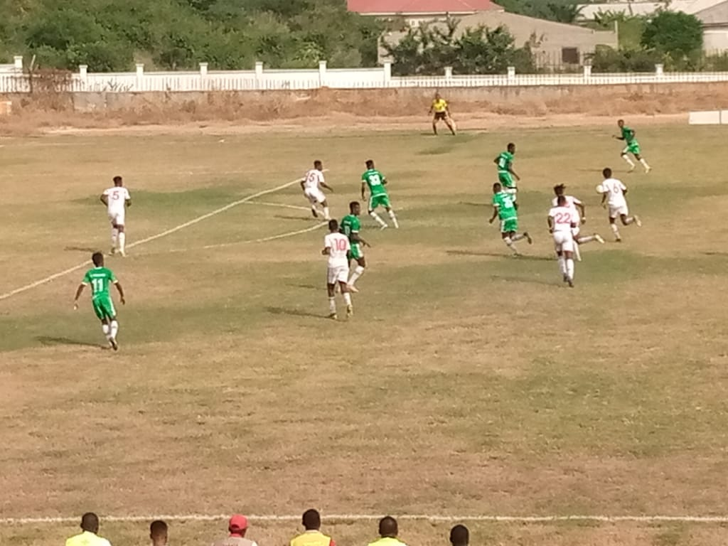 WAFA hold Elmina Sharks in goalless clash