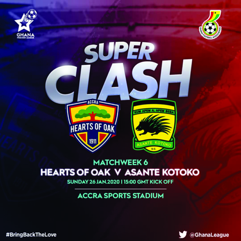 Pre-match press conference for Hearts vs Kotoko GPL Week 6 clash to be held on Thursday