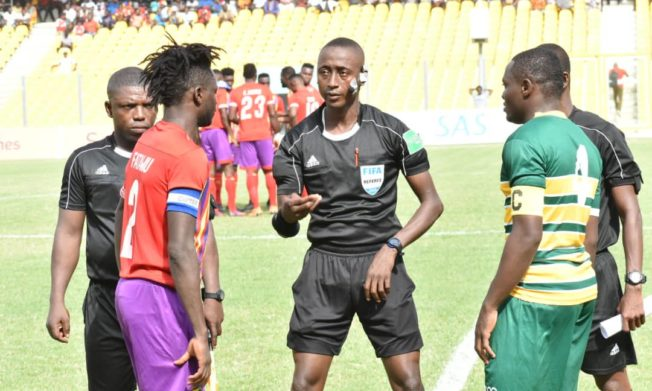 Match Officials for GPL Matchweek 5