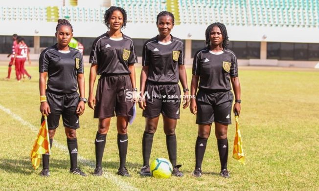 Match Officials for National Women's League Matchday 2