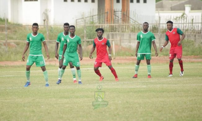 Karela deny Elmina Sharks first home win of the season