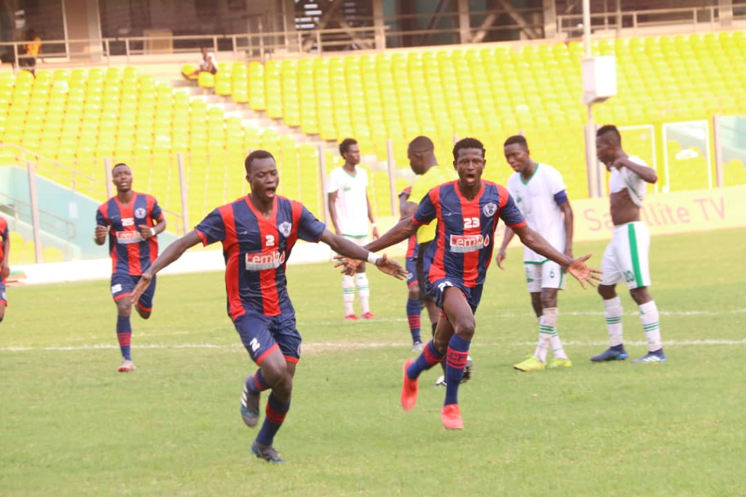 Legon Cities leave it late in home win over Elmina Sharks