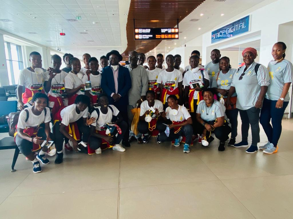 Black Maidens arrive safely in Monrovia for World Cup qualifier