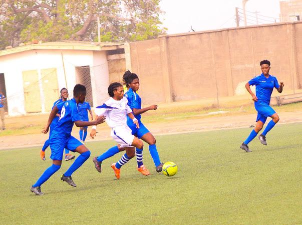 WPL: LadyStrikers dismantle Halifax Ladies 2-0 in Tema