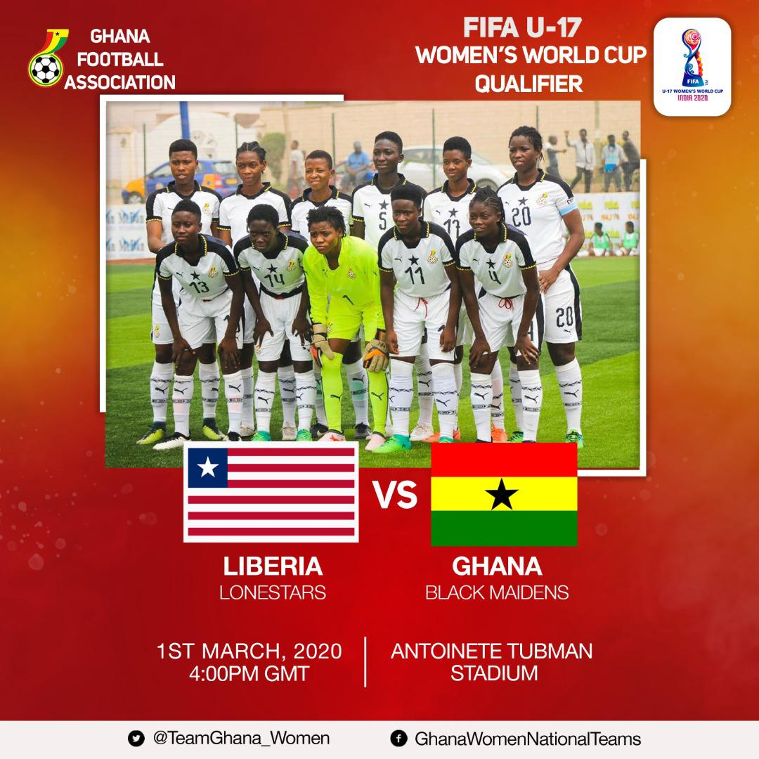 Preview- Ghana Black Maidens up against the Lone Star of Liberia