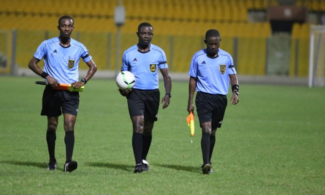 Match Officials for GPL Matchday 8