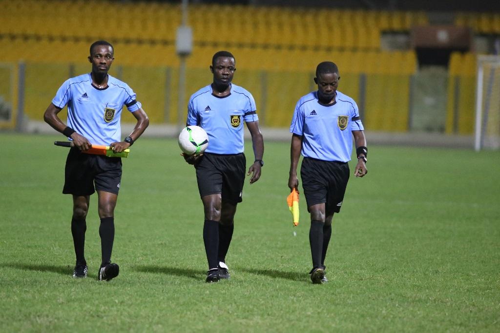 Match Officials for GPL Matchday 8