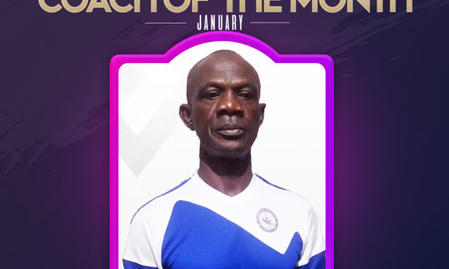 Berekum Chelsea's Asare Bediako wins Nasco Coach of the Month