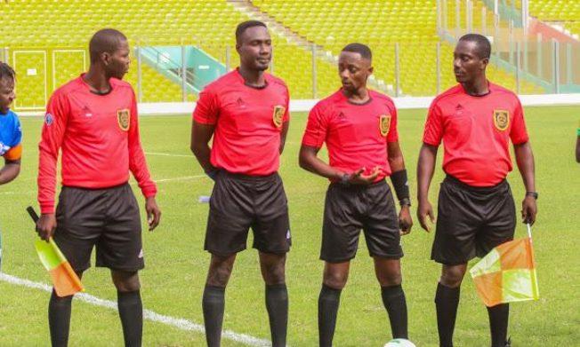 Match Officials for GPL Week 11 matches