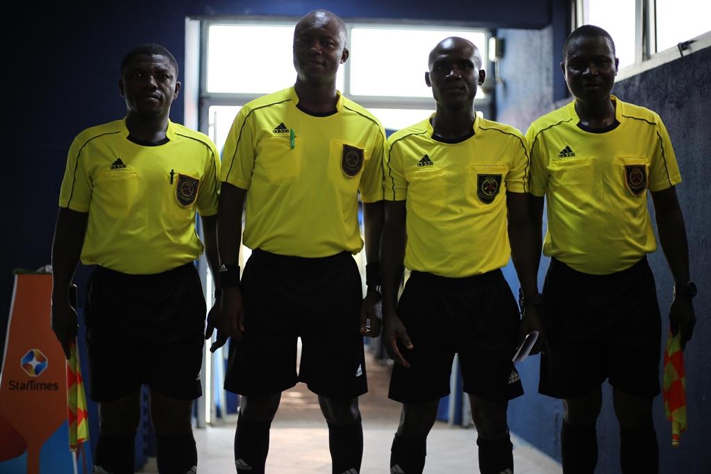 Match Officials for DOL Matchweek 8