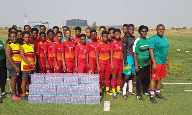 Black Maidens, Princesses receive water donation from Special Ice