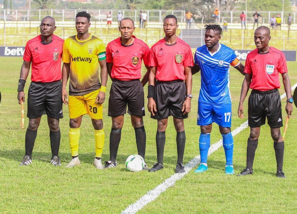 Match Officials for Ghana Premier League Match Week 9