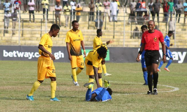 Ashantigold bounce back to winnings ways after pipping Dwarfs on Sunday