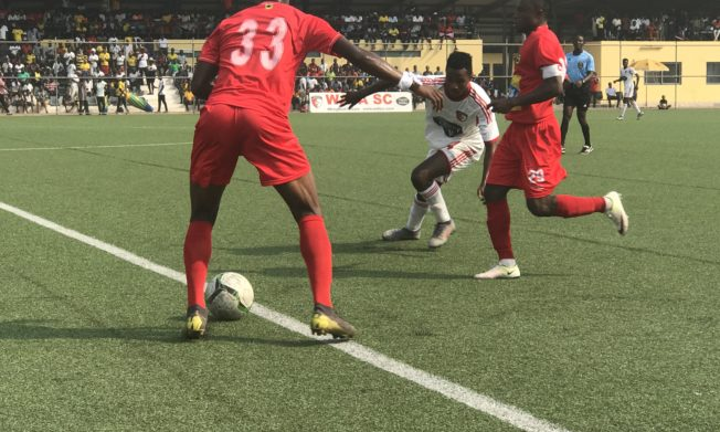 WAFA, Kotoko split points at Sogakope