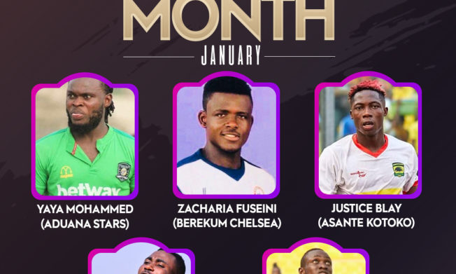 Nominees for Nasco Premier League Player and Coach of the Month announced
