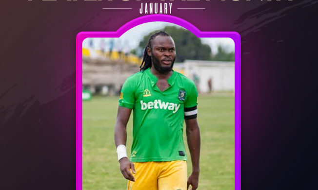 Aduana's Yahaya Mohammed wins Nasco Player of the Month