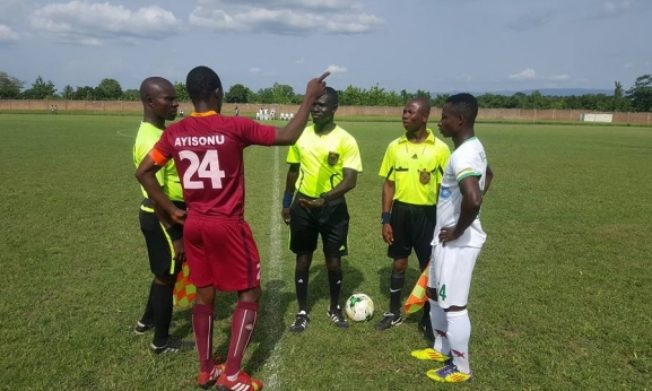 Match Officials for DOL Matchday 5 (Mid-week)