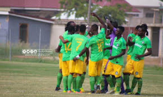 Aduana Stars move on top of League log with victory over Medeama